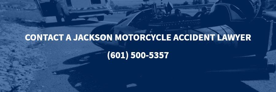 Jackson Motorcycle Accident Lawyer